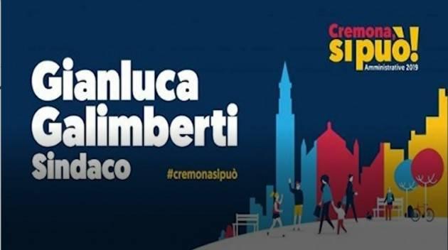 Cremonasipuò Programma elettorale di Galimberti: sul sito anche le azioni da fare