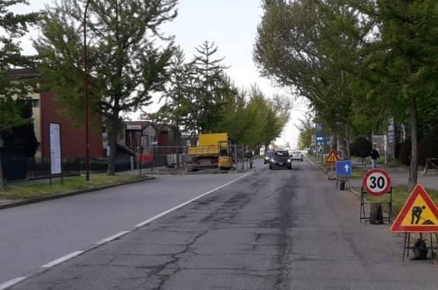Report del 17 aprile Padania Acque Cremona: Lavori Via Stenico, Via Castelleone e Castelnuovo