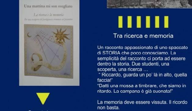 A Palazzo due Miglia 'Una mattina mi son svegliato' presentazione con gli autori  Ennio Serventi e Chiara Somenzi