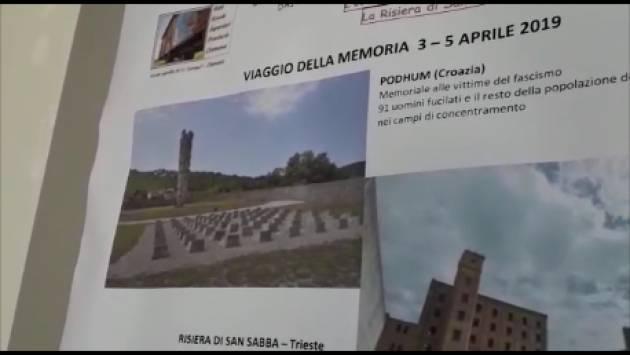 Cremona I promotori del 24° viaggio della Memoria in Croazia ringraziano