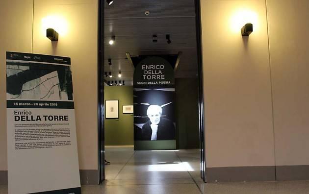 Cremona Mostra Enrico Della Torre – Segni della poesia: giovedì visita guidata con aperitivo