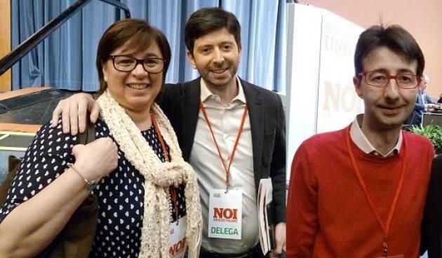 Francesco Ghelfi e Paola Ruggeri (art.Uno) Indipendenti nella lista PD a sostegno di Galimberti sindaco