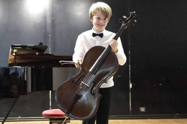 Il giovanissimo violoncellista Maxime Grizard in concerto per Musica al Museo