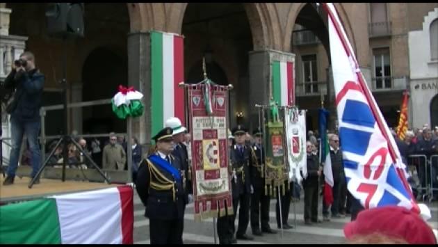 Cremona  Forte manifestazione antifascista nella Festa 25 aprile 2019,74° Liberazione (Video di G.C.Storti)