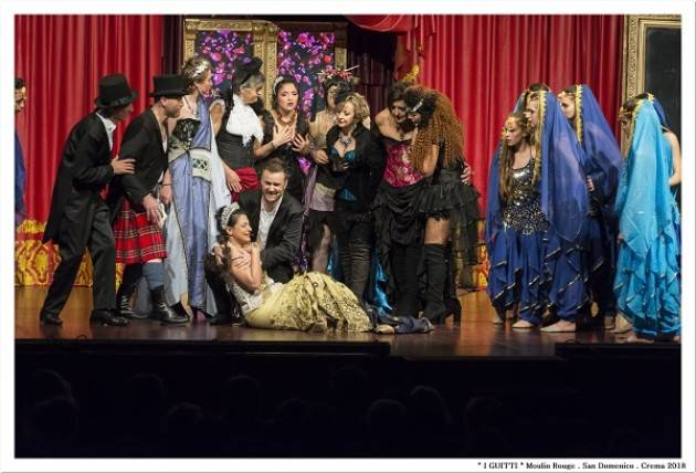 USACLI CREMA Una serata... Al Moulin Rouge!