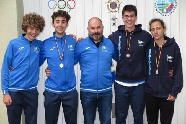 Canottaggio: ancora medaglie per gli atleti della Bissolati