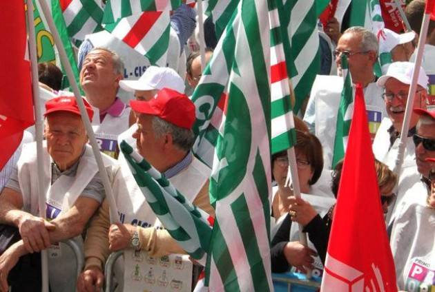 Festa 1° maggio 2019 Giuseppe Demaria (Cisl Cr-Mn): Giornata di festa ma anche di lotta ( Video G.C.Storti)