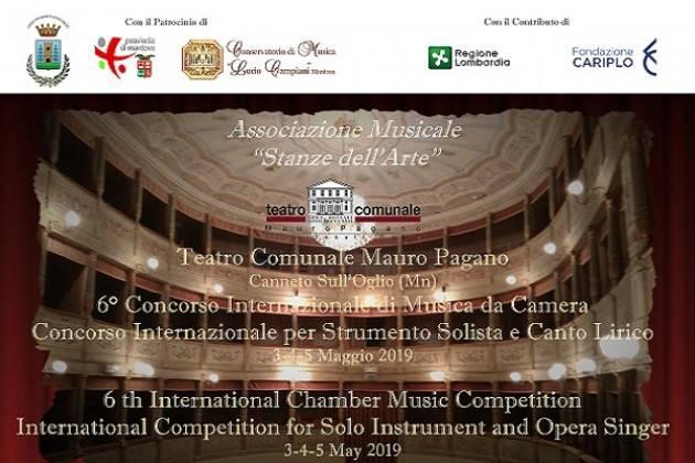 La 6° edizione del Concorso Internazionale di Musica da Camera a Canneto sull'Oglio