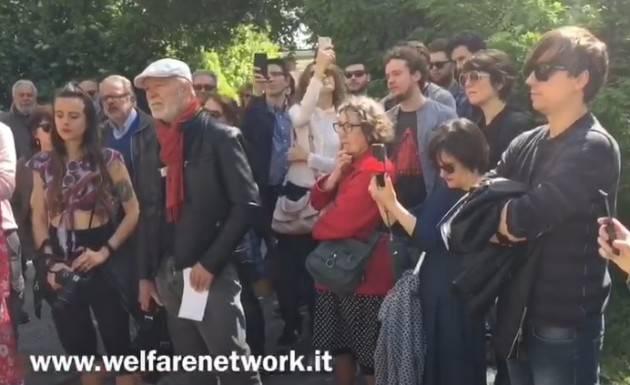 Doppio toccante momento per la Festa del Lavoro 2019  a Crema (Video di E.Mandelli)