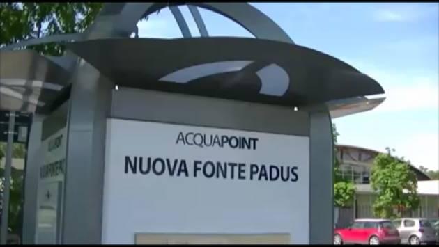 Cremona, Padania Acque S.p.A.: aperta la 'Nuova Fonte Padus' con Gianluca Galimberti (Video G.C.Storti)