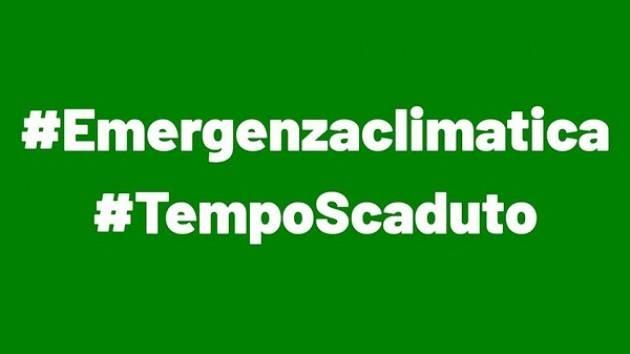 Emergenza Climatica: la nostra classe dirigente se ne è accorta?
