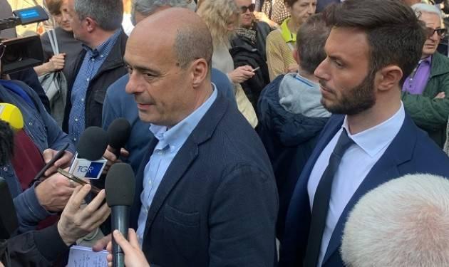 Zingaretti a Cremona  entusiasma attivisti del PD e centrosinistra. Galimberti sarà ancora un buon sindaco (video G.C.Storti)