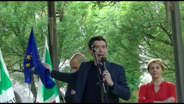 Gianluca Galimberti Cremona è una città aperta Le parole di odio spaccano le comunità (Video G.C.Storti)