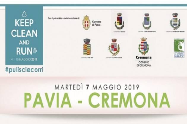 Keep Clean and Run a Cremona martedì 7 maggio