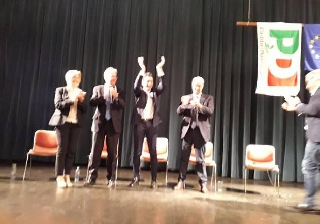 Galimberti sindaco di Cremona Entusiastico appoggio di Pisapia e Gentiloni (video G.C. Storti)