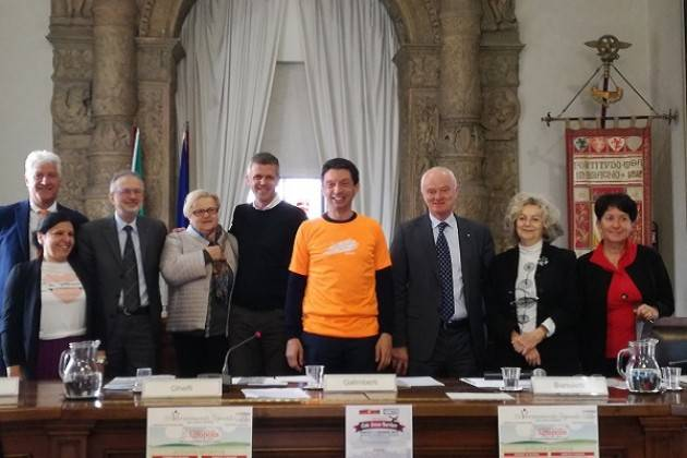 Cremona Presentata l'11° edizione di DiVersamente Uguali Il saluto di Galimberti (Video Chiara Peli)