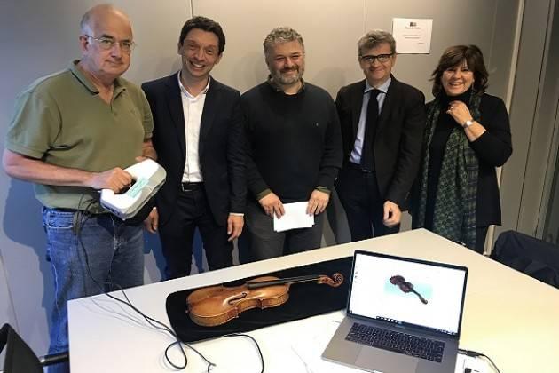 Nuova collaborazione scientifica al Museo del Violino