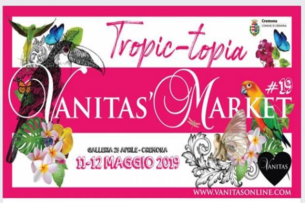 Vanitas' Market a Cremona l'11 e il 12 maggio