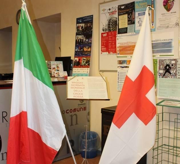 Il Comune di Cremona a fianco dell'operato della Croce Rossa