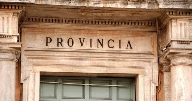 Riforma Province: de Pascale 'Apprezziamo le parole del Ministro Tria: è questo l'approccio giusto per affrontare le riforme istituzionali'