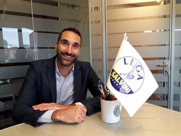 Cremona Alessandro Zagni (Lega): 'sono candidato Vice Sindaco e rappresento il partito più forte della coalizione, la Lega' (Video G.C.Storti)