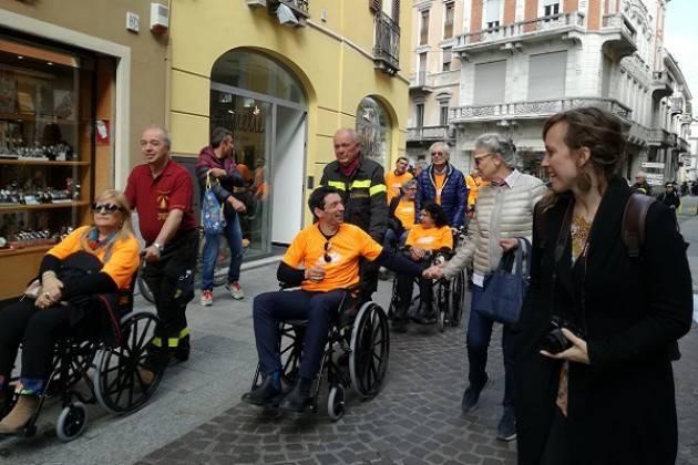 Giro in Città in Carrozzina 2019: per una Cremona senza ostacoli