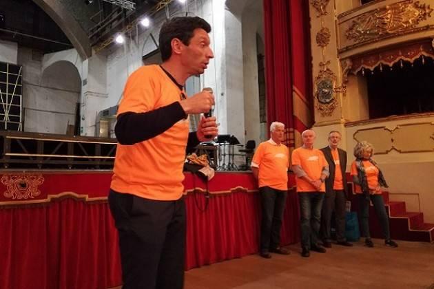 Il Sindaco Galimberti presente al Giro in Città in Carrozzina (Video Chiara Peli)