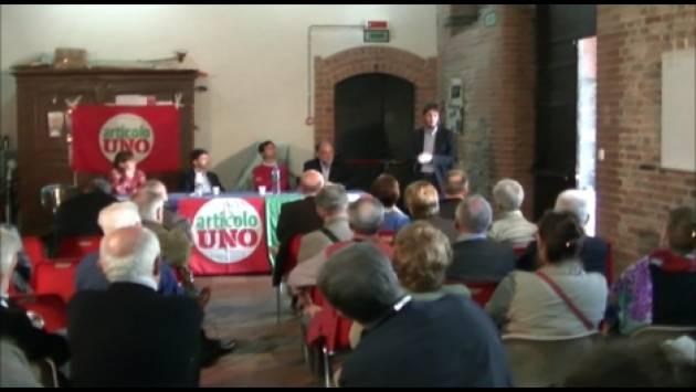 Roberto Speranza (Art.Uno ) a Cremona per il sostegno a Gianluca Galimberti sindaco2019 (Video G.C.Storti)