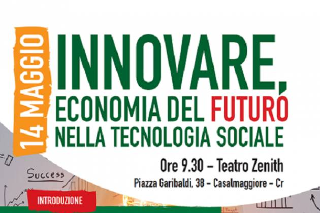 Carlo Cottarelli, Leonardo Becchetti e Giuseppe Demaria a Casalmggiore il 14 maggio