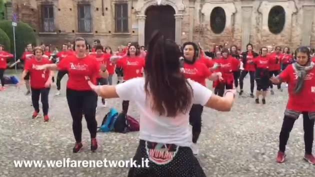 Ra silent walking è sbarcato a Crema grazie all'associazione AISM (Video E.Mandelli)