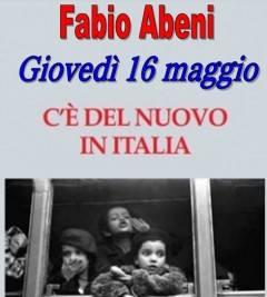 A Gussola  Presentazione libro di Fabio Abeni  'C'è del nuovo in Italia'