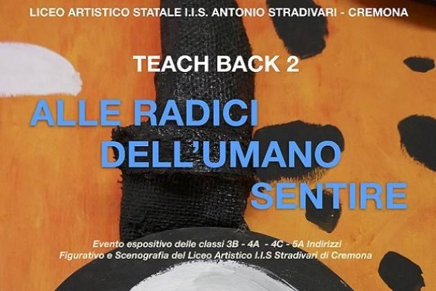 """Sabato 18 maggio inaugurazione di """"TEACH BACK 2"""""""
