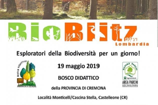"""Domenica 19 maggio """"Esploratori della biodiversità"""" al Bosco Didattico di Castelleone"""