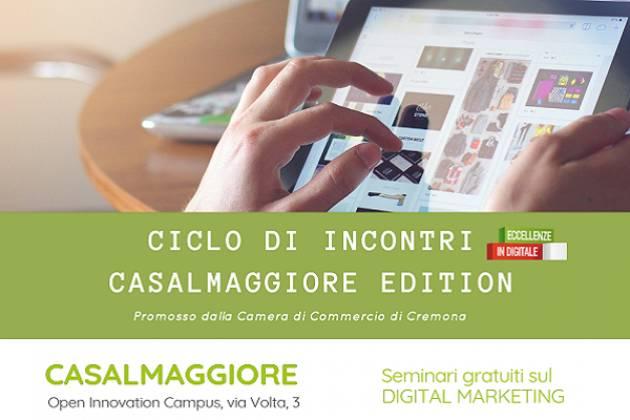 Eccellenze in Digitale - Casalmaggiore Edition  Evento 11 luglio
