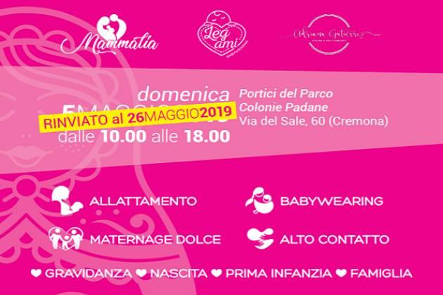 Rinviata al 26 maggio la 1° festa di primavera alle Colonie Padane