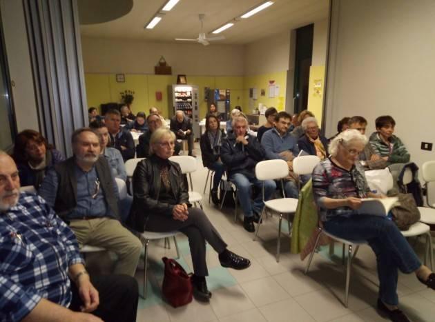 Gussola Un successo la presentazione del libro di Fabio Abeni  'c'è del nuovo in Italia'