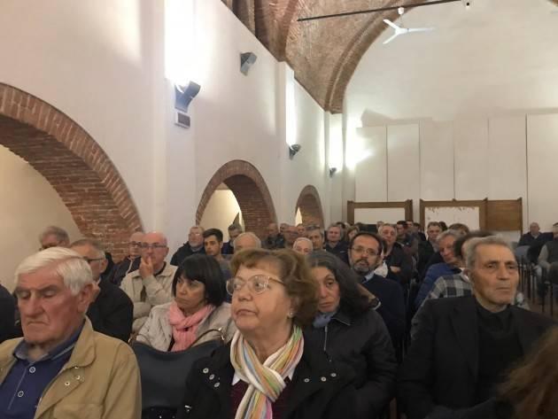 Casalmaggiore Graziano Del Rio (PD) sostiene Fabrizio Vappina Candidato Sindaco (Video)