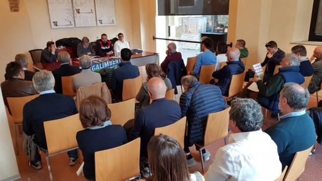 La lista Cremona Attiva (che sostiene Galimberti)  ha parlato di sport con le società cremonesi di Giorgio Barbieri