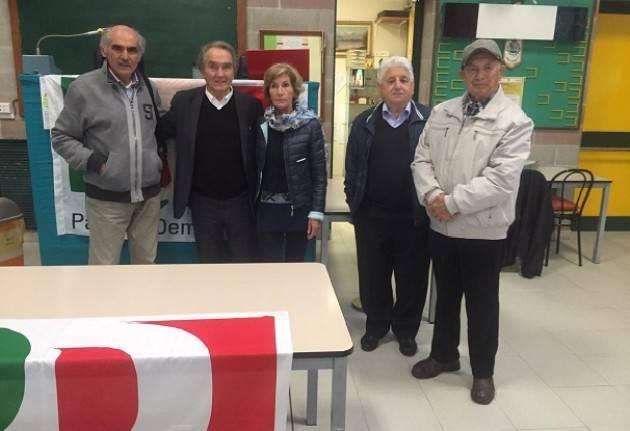 Gianni Farina ,candidato( PD-Siamo Europei) circoscrizione NordOvest si presenta (Video)