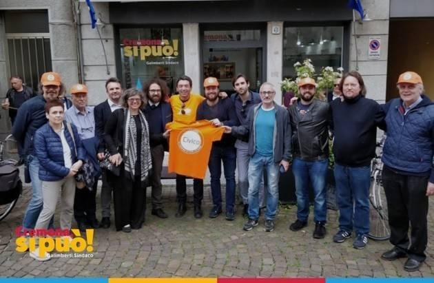Elia Sciacca (Patto Civico) : io che provengo dal M5S ecco perché  sostengo Galimberti sindaco di Cremona (Video G.C.Storti)