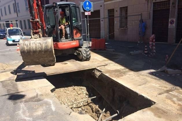 Cremona, Padania Acque: da lunedì 27 maggio lavori alla rete fognaria in via Sesto