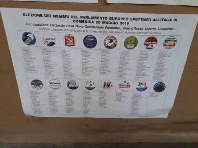 Elezioni 2019 Cremona città al 69,24 alle ore 23% in calo l'afflusso Gli aventi diritto al voto  in città per Europee e Comunali