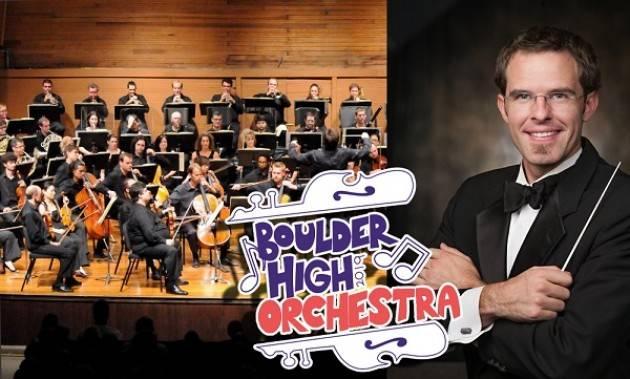 A Cremona Concerto della Boulder High School Orchestra il 29 maggio