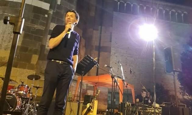 Gianluca Galimberti si conquista il ballottaggio del 9 giugno con il 46,36%. Ora va riconfermato sindaco (G.C.Storti)