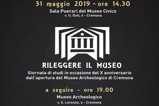 Il Museo Archeologico di Cremona festeggia i dieci anni