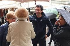 Galimberti verso il ballottaggio: presenza nei quartieri ed eventi