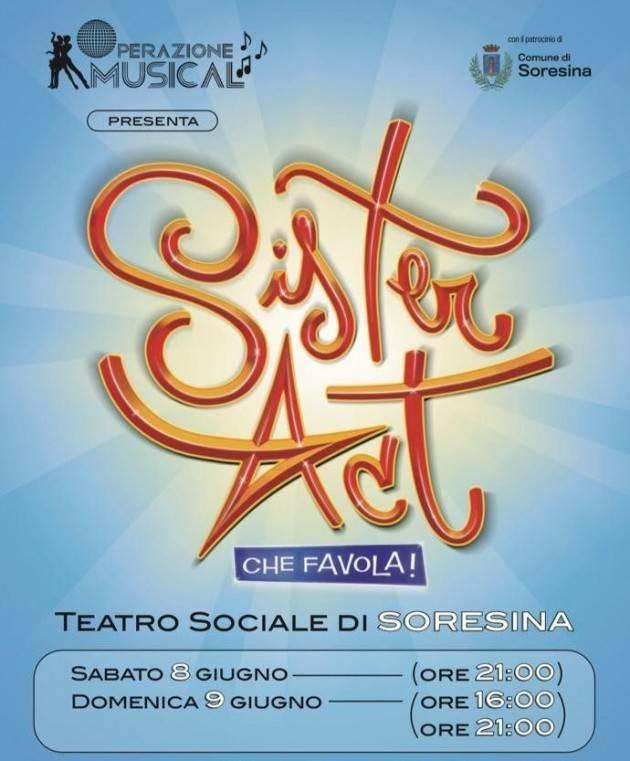 Al Teatro di Soresina in scena il nuovo spettacolo 'Sister Act Che Favola!' l'8 e il 9 giugno