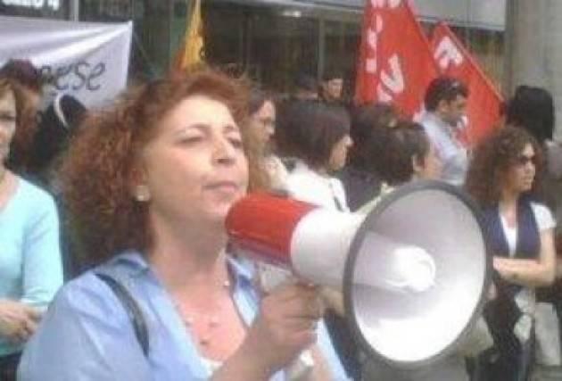La telefonata. Maria Teresa Perin (Filmcams-Cgil) I lavoratori del Mercatone di Madignano sul piede di guerra