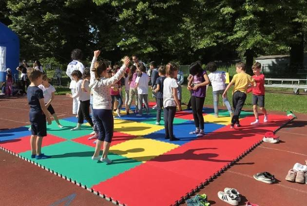 """Al Campo Scuola festa finale del progetto """"Giocare gli Sport per Apprendere"""""""