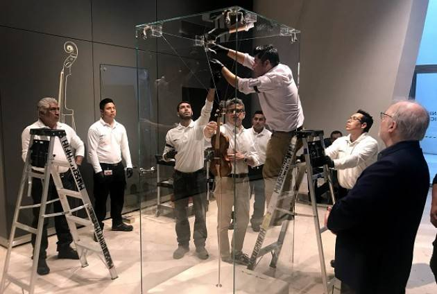 La liuteria cremonese protagonista in Messico